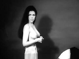 Nasty Crunk Dark Haired Is So Sleek (1960s Antique)