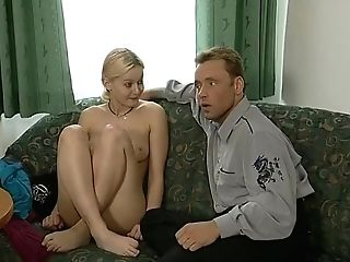 Blonde Retro Nubile Street Casting Interview - What Series Is This From?