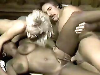 Dark-hued Ayes Frank James Blonde Chick Threesome