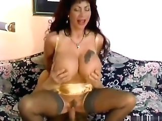 Antique German Stunner With Ginormous Tits