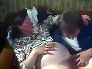 Hairy Prego Woman Gets Fucked